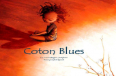 Couverture Coton Blues