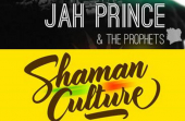 Visuel Shaman Culturel + Jah Prince & The Prophets